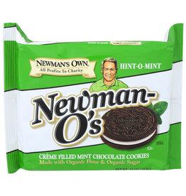 NEWMAN'S OWN® NEWMAN'S OWN NEWMAN-O'S, MINT CREME, 13 OZ.
