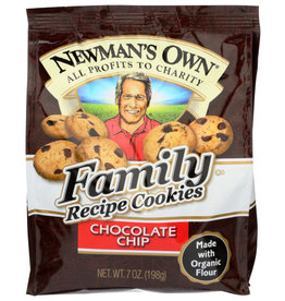 NEWMAN'S OWN® NEWMAN'S OWN FAMILY RECIPE COOKIES, CHOCOLATE CHIP, 7 OZ.