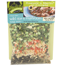 FRONTIER SOUPS FRONTIER SOUPS SOUP MIX, OREGON LAKES WILD RICE AND MUSHROOM, 4 OZ.