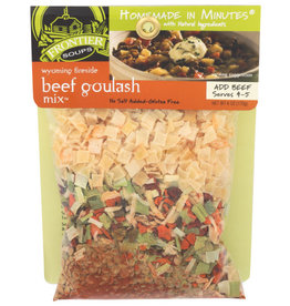 FRONTIER SOUPS FRONTIER SOUPS WYOMING FIRESIDE BEEF GOULASH MIX, 6 OZ.