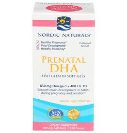 NORDIC NATURALS NORDIC NATURALS PRENATAL DHA FISH GELATIN SOFT GELS DIETARY SUPPLEMENT, 180 GELS