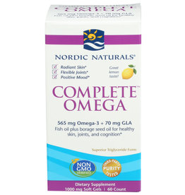 NORDIC NATURALS NORDIC NATURALS COMPLETE OMEGA DIETARY SUPPLEMENT, 60 COUNT