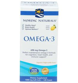 NORDIC NATURALS NORDIC NATURALS OMEGA-3 DIETARY SUPPLEMENT, 120 COUNT