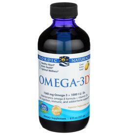 NORDIC NATURALS NORDIC NATURALS OMEGA-3D DIETARY SUPPLEMENT, 8 FL. OZ.