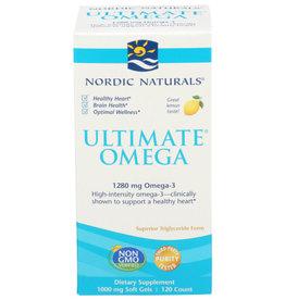 NORDIC NATURALS NORDIC NATURALS ULTIMATE OMEGA DIETARY SUPPLEMENT, GREAT LEMON TASTE, 120 COUNT