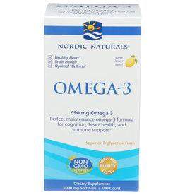 NORDIC NATURALS NORDIC NATURALS OMEGA-3 DIETARY SUPPLEMENT, 180 SOFTGELS
