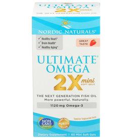 NORDIC NATURALS Nordic Naturals Ultimate Omega 60 Mini Soft Gels