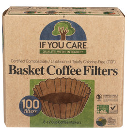 IF YOU CARE IF YOU CARE COFFEE FILTERS, 100 FILTERS