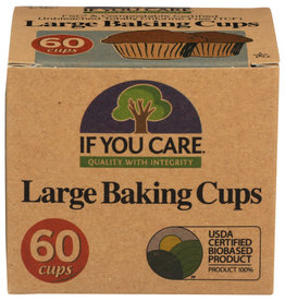IF YOU CARE IF YOU CARE LARGE BAKING CUPS, 60 CUPS