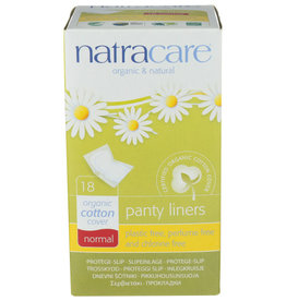 NATRACARE® NATRACARE ORGANIC & NATURAL PANTY LINERS, 18 PACK
