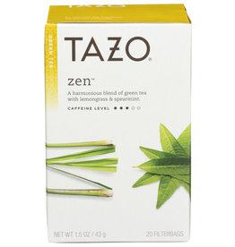 TAZO® TAZO ZEN GREEN TEA WITH LEMONGRASS & SPEARMINT, 20 COUNT