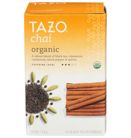 TAZO® TAZO CHAI ORGANIC BLACK TEA, 20 COUNT