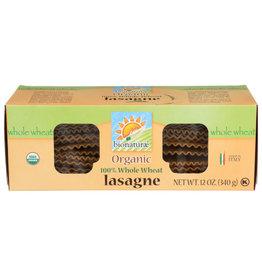 BIONATURAE BIONATURAE ORGANIC LASAGNA PASTA, 100% WHOLE WHEAT, 12 OZ. BOX