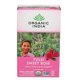 ORGANIC INDIA™ ORGANIC INDIA TULSI TEA, SWEET ROSE, 18 BAG
