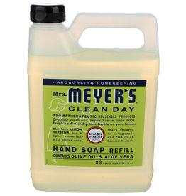 MRS. MEYER*S® CLEAN DAY Hand Soap Refill Lemon Verbena 33oz