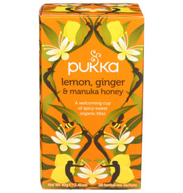 PUKKA Pukka Lemon, Ginger & Manuka Honey