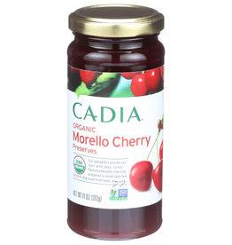 CADIA CADIA ORGANIC MORELLO CHERRY PRESERVES, 11 OZ.