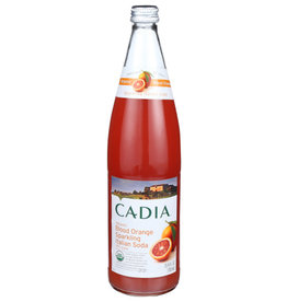CADIA CADIA ORGANIC BLOOD ORANGE SPARKLING ITALIAN SODA, 25.4 FL. OZ.