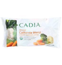 CADIA CADIA ORGANIC BROCCOLI, CAULIFLOWER & CARROTS CALIFORNIA VEGETABLE BLEND, 16 OZ.