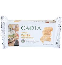 CADIA CADIA ORGANIC VANILLA SANDWICH COOKIES, 10.5 OZ.
