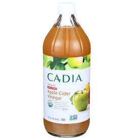 CADIA CADIA ORGANIC UNFILTERED APPLE CIDER VINEGAR, 32 FL. OZ.