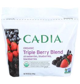 CADIA CADIA ORGANIC TRIPLE BERRY BLEND, 10 OZ.