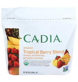 CADIA CADIA ORGANIC TROPICAL BERRY BLEND FROZEN FRUIT, 10 OZ.