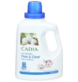 CADIA CADIA ALL NATURAL FREE & CLEAR FABRIC SOFTENER, 50 FL. OZ.