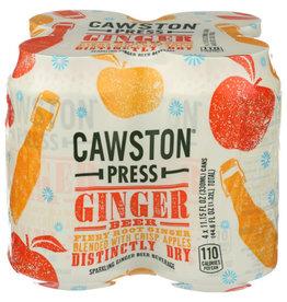 CAWSTON PRESS® CAWSTON PRESS CRAFT SODA, GINGER BEER, 4 CANS