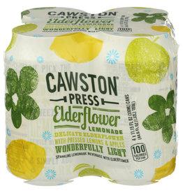 CAWSTON PRESS® CRAWSTON PRESS CRAFT SODA, ELDERFLOWER LEMONADE, 4 CANS