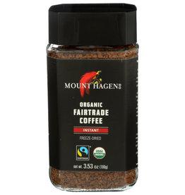 MOUNT HAGEN MOUNT HAGEN INSTANT ORGANIC FAIRTRADE COFFEE, 3.53 OZ.