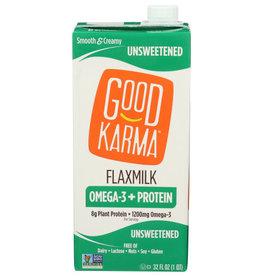 GOOD KARMA® Good Karma Unsweetened Flax Milk  32 oz