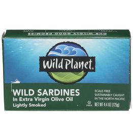 WILD PLANET FOODS WILD PLANET WILD SARDINES, 4.4 OZ.
