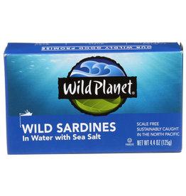 WILD PLANET FOODS WILD PLANET WILD SARDINES, IN WATER, 4.4 OZ.
