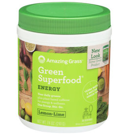 AMAZING GRASS® AMAZING GRASS GREEN SUPERFOOD LEMON-LIME ENERGY, 7.4 OZ.
