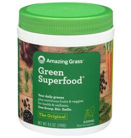 AMAZING GRASS® AMAZING GRASS GREEN SUPERFOOD, ORIGINAL, 8.5 OZ. TUB