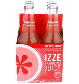 IZZE® IZZE SPARKLING JUICE, GRAPEFRUIT, 4 PACK