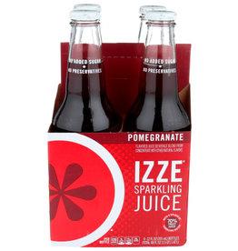 IZZE® IZZE SPARKLING JUICE, POMEGRANATE, 4 PACK