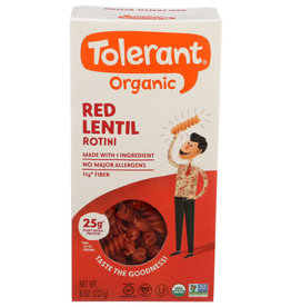 TOLERANT® SIMPLY LEGUMES™ TOLERANT,OG2,RED LNTL,ROTINI 8 OZ