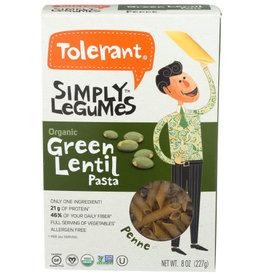 TOLERANT Tolerant Og Green Lentil Penne 8oz