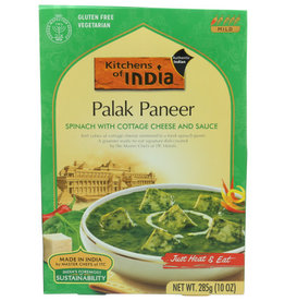 KITCHENS OF INDIA KITCHENS OF INDIA PALAK PANEER SPINACH WITH COTTAGE CHEESE AND SAUCE, 10 OZ.