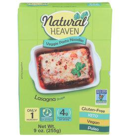 NATURAL HEAVEN Nature Heaven Veggie Pasta Noodles Lasagna 9 oz