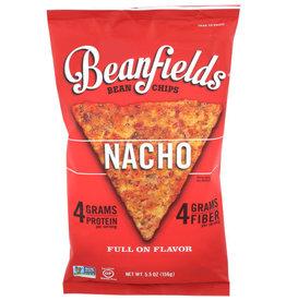 BEANFIELDS® BEANFIELDS CHIPS, NACHO BEAN & RICE CHIPS, 5.5 OZ. BAG