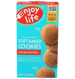ENJOY LIFE FOODS® ENJOY LIFE, SNICKERDOODLE SOFT-BAKED COOKIES, 6 OZ.