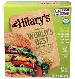 "HILARY'S EAT WELL HILARY'S EAT WELL THE ""WORLD'S BEST"" VEGGIE BURGER, 2 EACH"