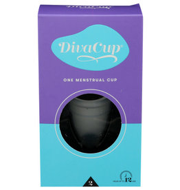 THE DIVA CUP® THE DIVACUP MODEL 2, FEMININE HYGIENE MENSTRUAL CUP, 1 COUNT