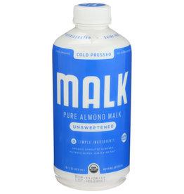 MALK™ MALK ALMOND MILK, UNSWEETENED, 28 FL. OZ.