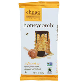 CHUAO CHOCOLATIER CHUAO CHOCOLATE BAR, HONEYCOMB, 2.8 OZ.