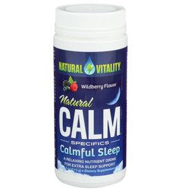 NATURAL VITALITY NATURAL VITALITY NATURAL CALM SPECIFICS CALM SLEEP, WILDBERRY FLAVOR, 4 OZ.