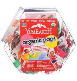 YUMEARTH® YUMEARTH COUNTER TOP ASSORTED FRUIT LOLLIPOPS BIN, 30 OZ.